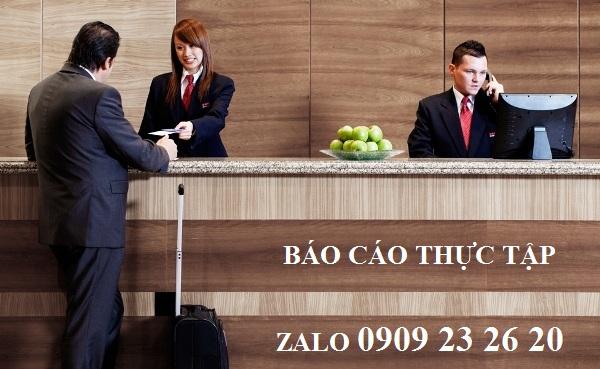 những câu tiếng anh ngành lễ tân khách sạn