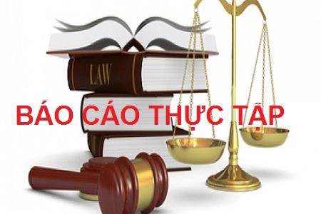 đề tài báo cáo thực tập ngành luật hành chính
