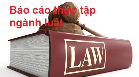 giá viết báo cáo thực tập ngành luật là bao nhiêu