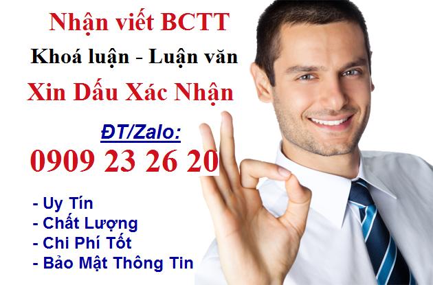 xin dấu xác nhận thực tập tại Hà Nội