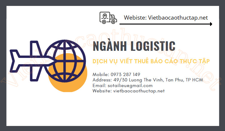Dịch vụ viết báo cáo thực tập Ngành Logistics